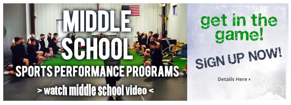Middle School Sports Performance
